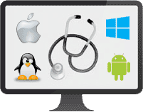 apple windows android linux